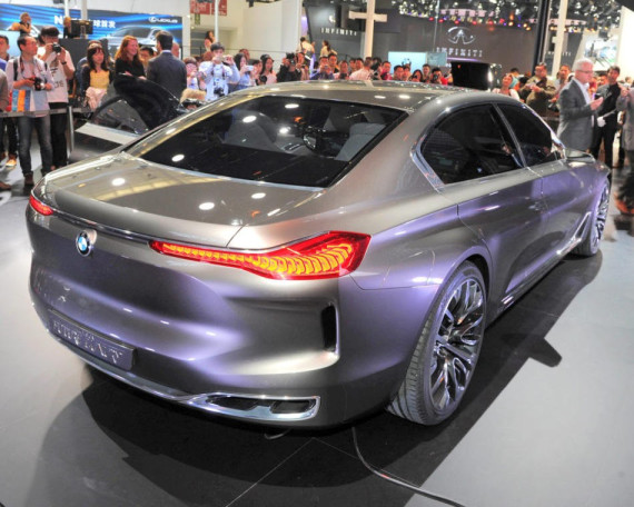 задние фонари BMW Vision Future Luxury 2014