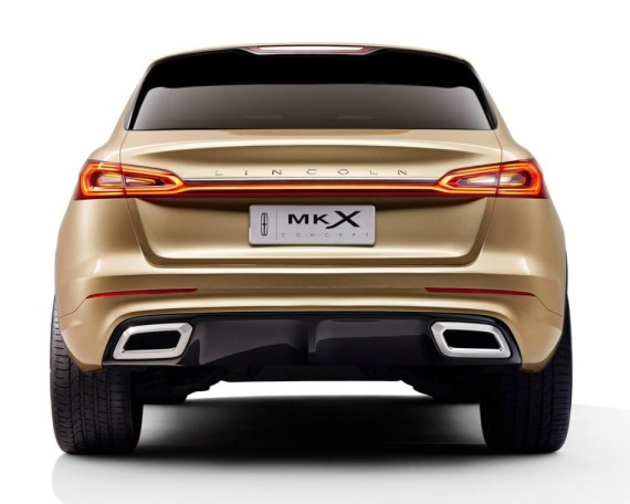 задние фонари Lincoln MKX Concept 2014