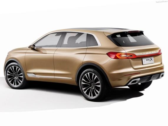 задняя часть концепта Lincoln MKX 2014