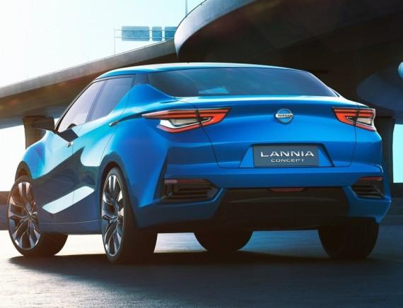задняя часть концепта Nissan Lannia 2014