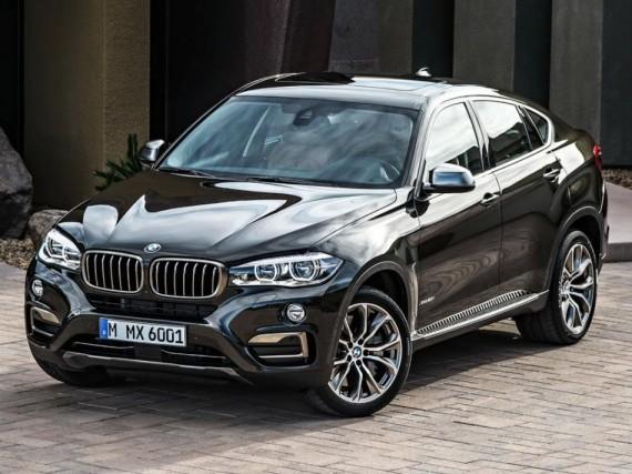 фары и бампер BMW X6 2015 2 поколения