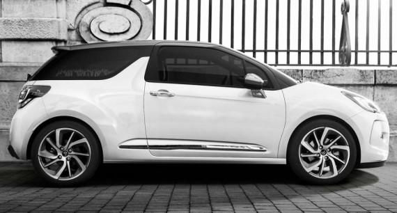 хетчбэк Citroen DS3 Cabrio 2015 сбоку