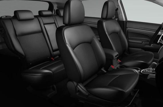 интерьер Mitsubishi ASX 2015