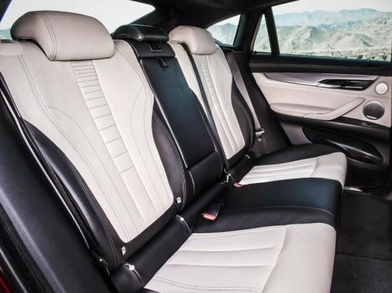 интерьер нового BMW X6 2015