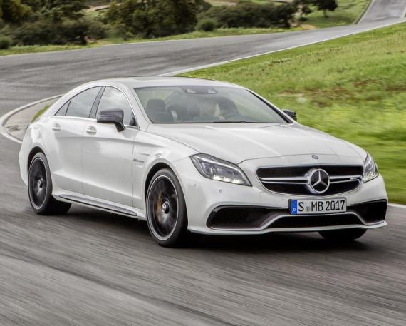 новый Mercedes CLS 63 AMG 2015