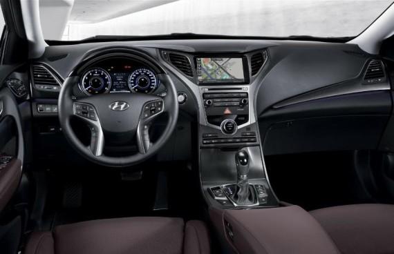 салон Hyundai Grandeur 2015 рестайлинг