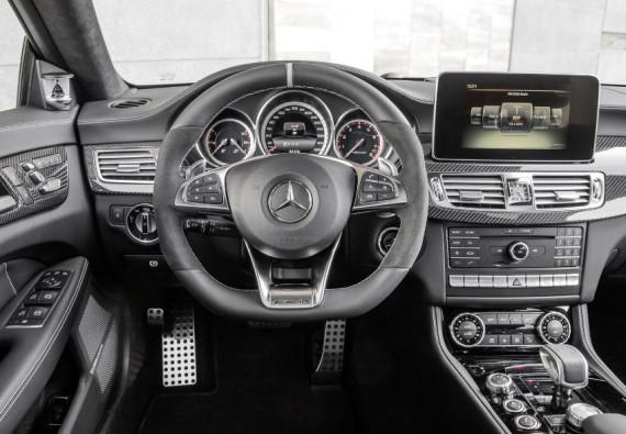 салон Mercedes CLS 2015