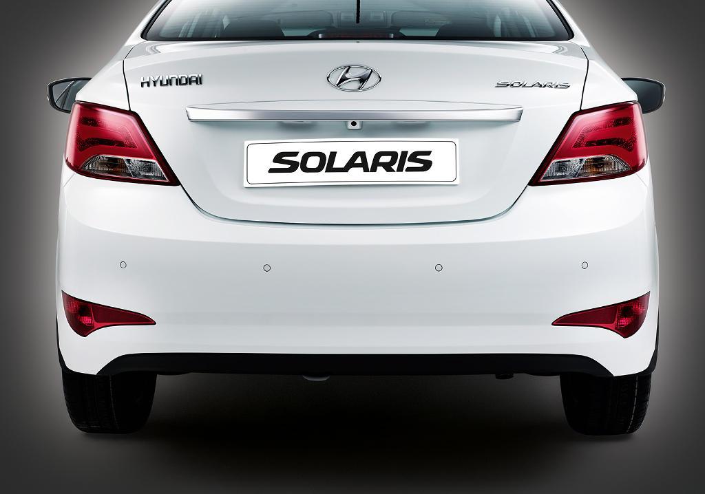 задние фонари Hyundai Solaris 2016