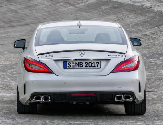 задние фонари Mercedes CLS 63 AMG 2015