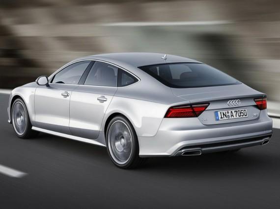 задняя часть нового Audi A7 Sportback 2015