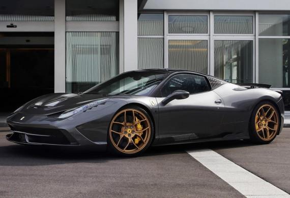Тюнинг Ferrari 458 Speciale от Novitec Rosso сбоку
