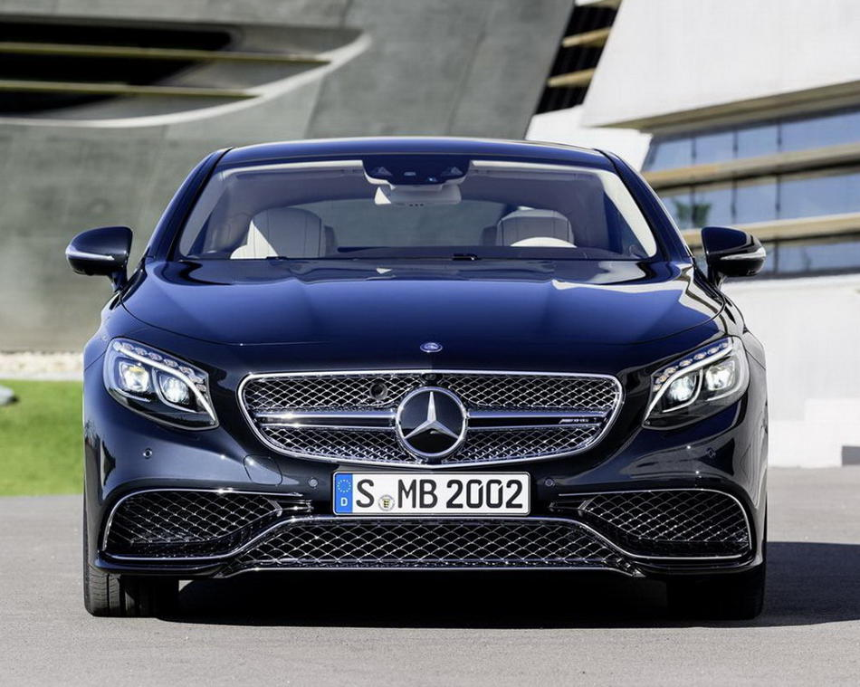 фары и бампер Mercedes S65 AMG Coupe 2015