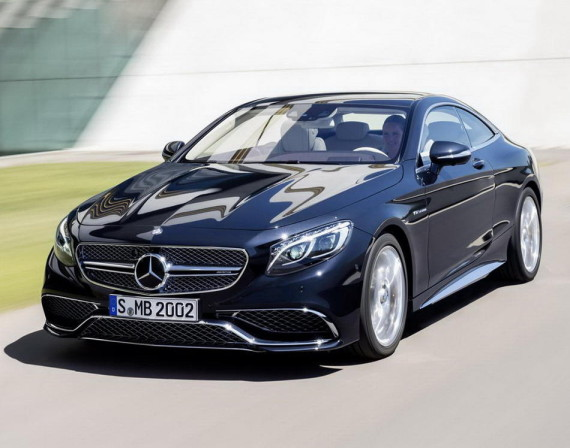 фото Mercedes S65 AMG Coupe 2015