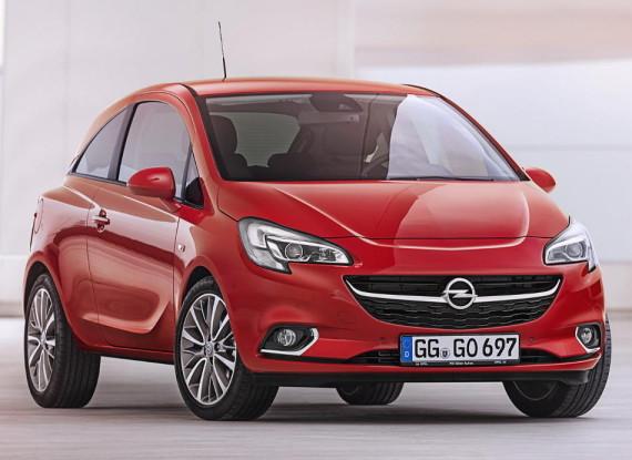 фото Opel Corsa 2015 года