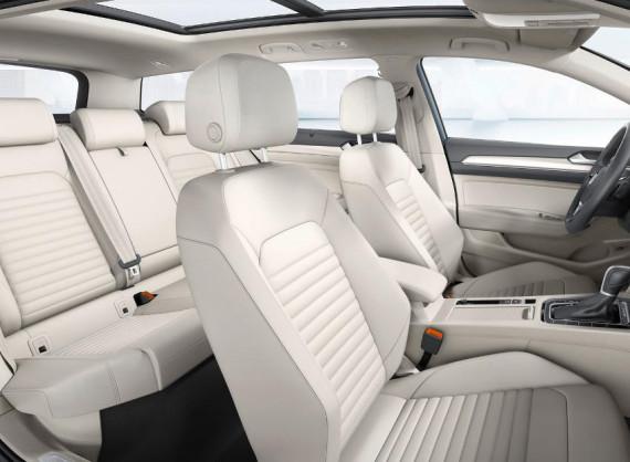 интерьер Volkswagen Passat 2015