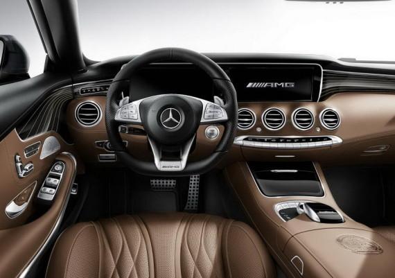 салон Mercedes S65 AMG Coupe 2015