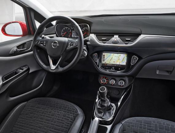 салон Opel Corsa 2015