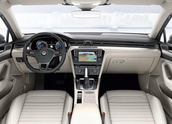 салон Volkswagen Passat 2015