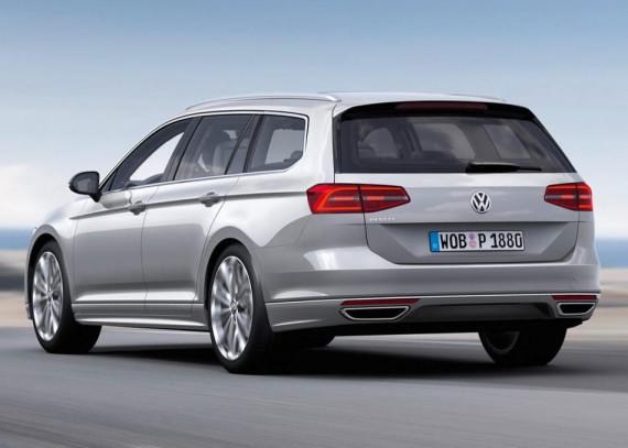 задние фонари Volkswagen Passat 2015 Универсал