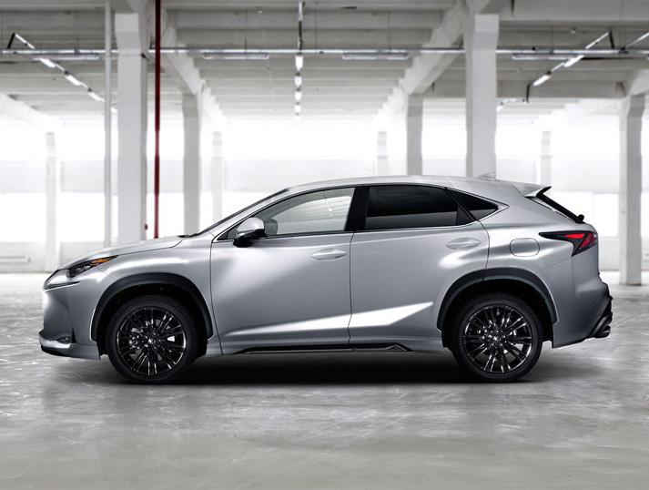 Lexus NX 2015 Modellista сбоку