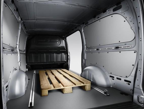 багажный отсек Mercedes Vito 2015