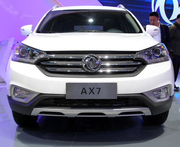 фары и бампер Dongfeng AX7 2015