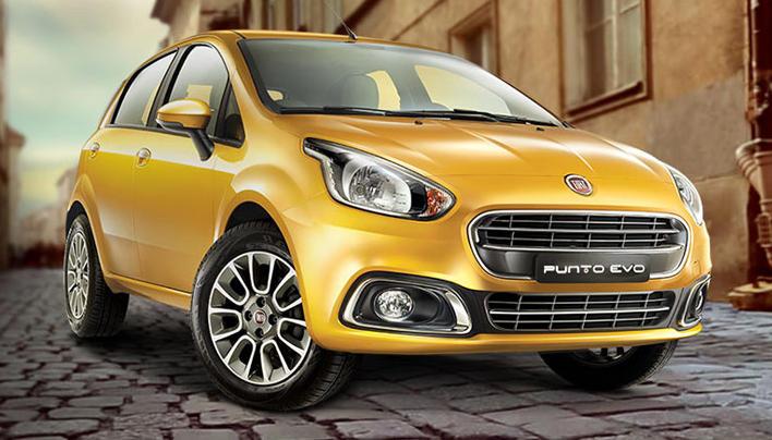 фары и бампер Fiat Punto Evo 2015