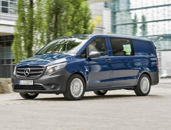 грузопассажирская Mercedes Vito 2015 Mixto