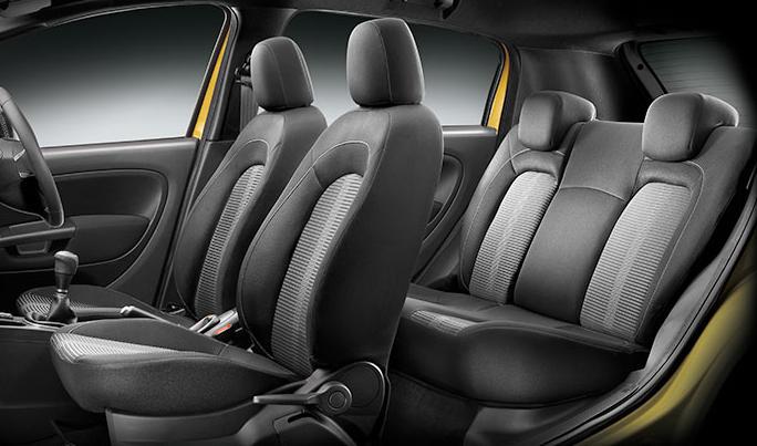 интерьер Fiat Punto Evo 2015