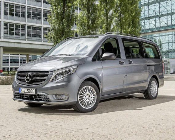 Новый Mercedes Vito 2015: цена, фото, характеристики
