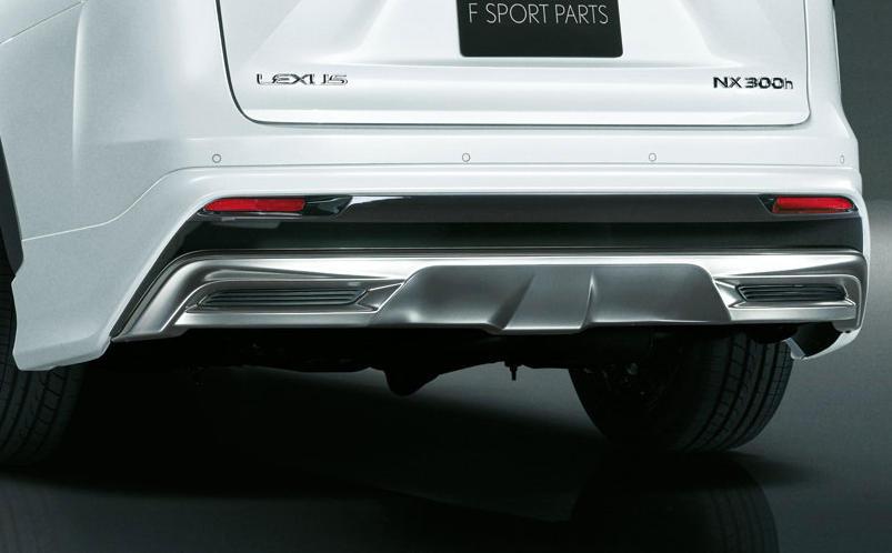 патрубки Lexus NX 2015 от Modellista