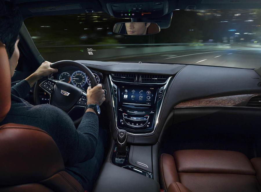 салон Cadillac CTS 2015