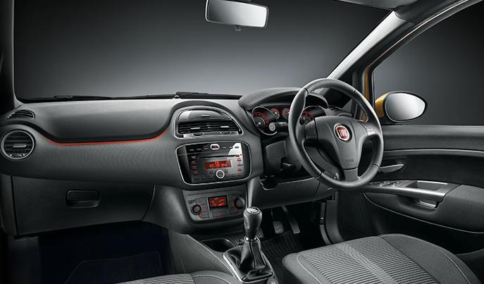 салон Fiat Punto Evo 2015