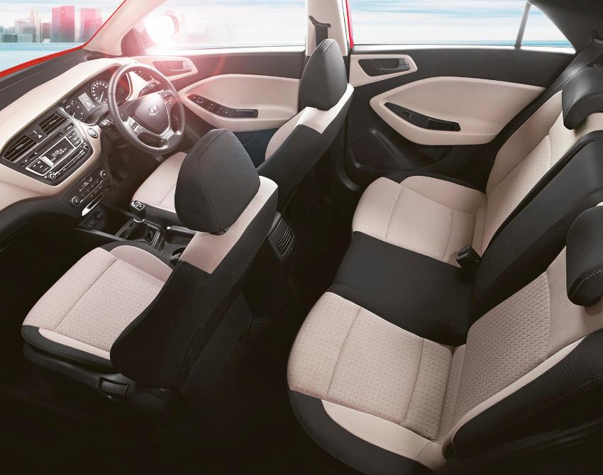 салон Hyundai i20 2015 года
