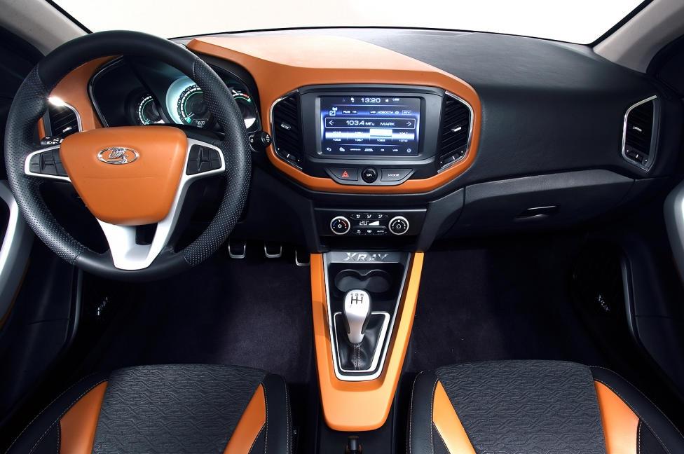 салон Lada XRay Concept 2