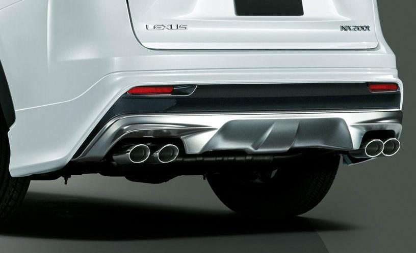 сплиттер Lexus NX 2015 от Modellista