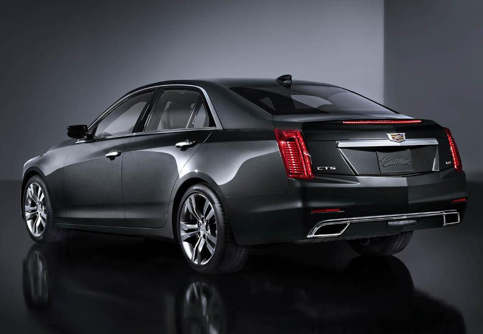 задняя часть Cadillac CTS 2015