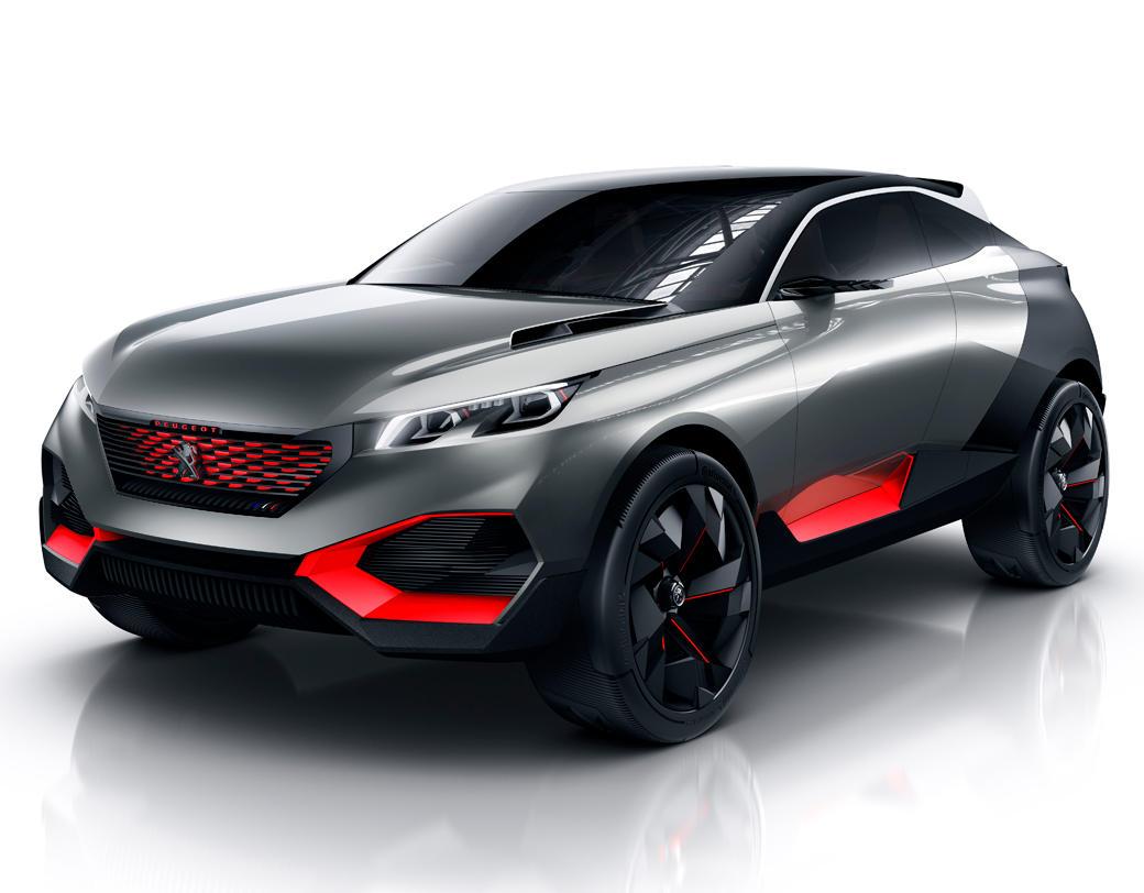 фото концепта Peugeot Quartz 2014