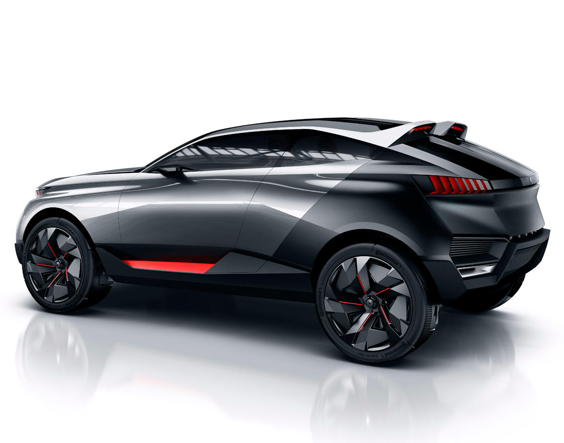 кроссовер Peugeot Quartz 2014 сбоку