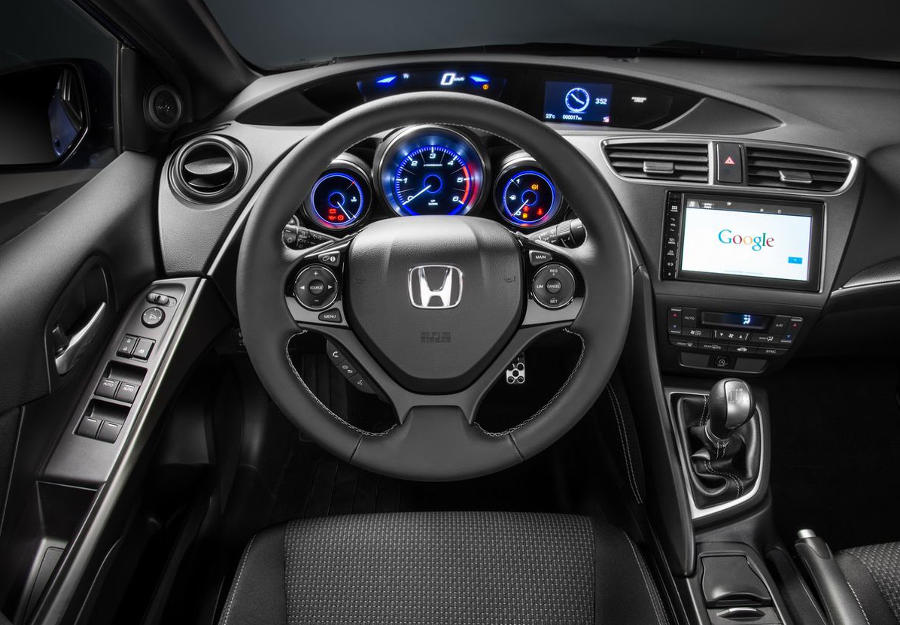 салон Honda Civic Sport 2015 года