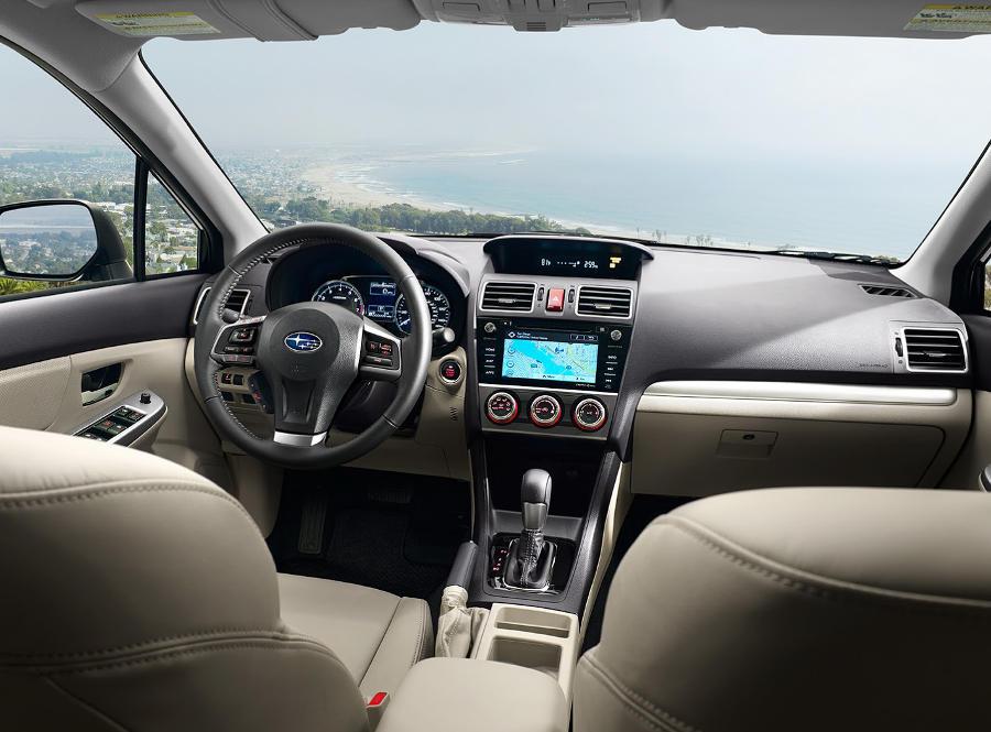 салон Subaru Impreza 2015 года