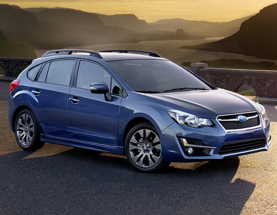 универсал Subaru Impreza 2015 года