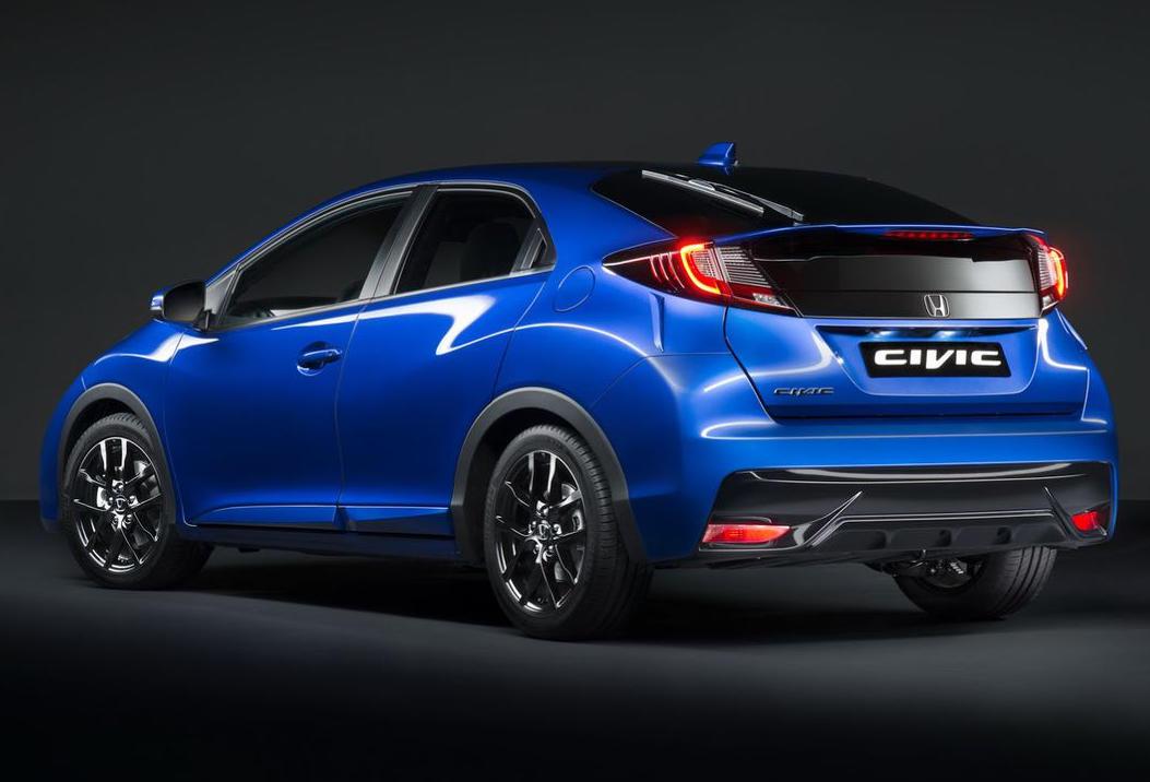 задние фонари Honda Civic Sport 2015