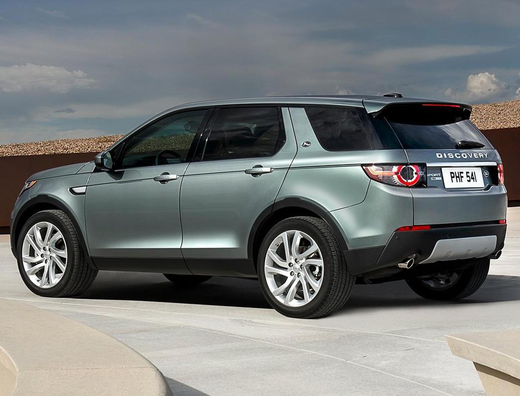 задняя часть Land Rover Discovery Sport 2015