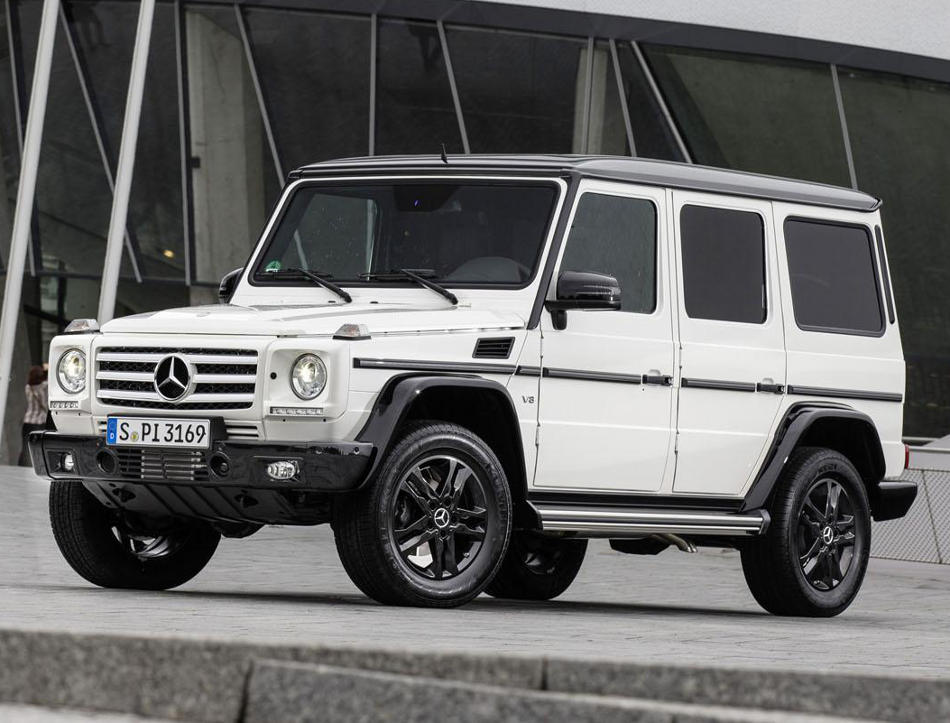Mercedes G-Class Edition 35 фото