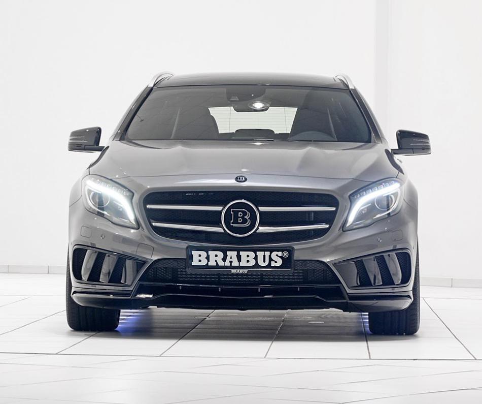 Тюнинг Mercedes GLA 2014 от Brabus