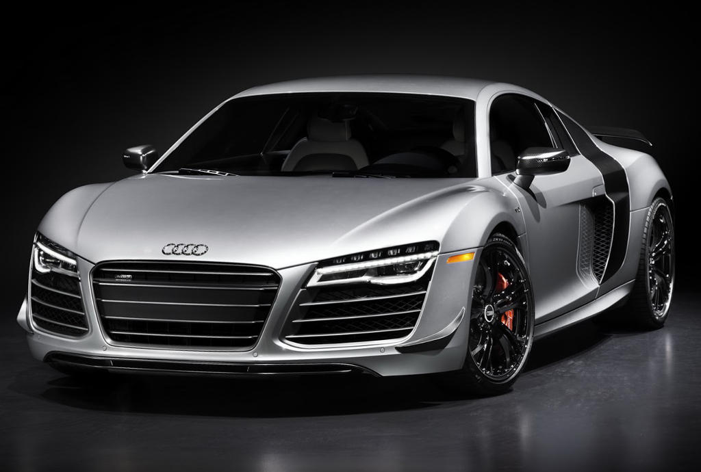 фары и бампер Audi R8 Competition 2015