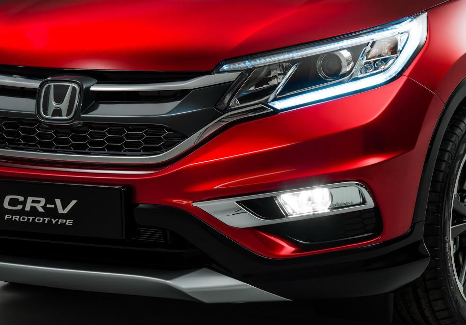 фары и бампер Honda CR-V 2015