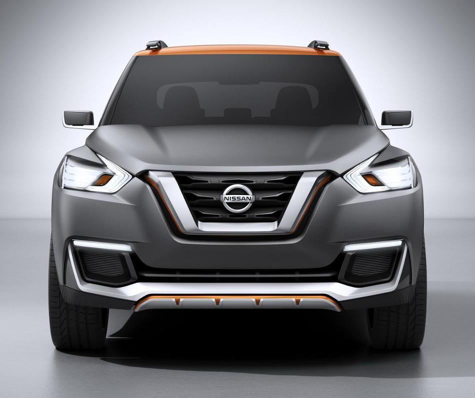 фары и бампер Nissan Kicks Concept 2014