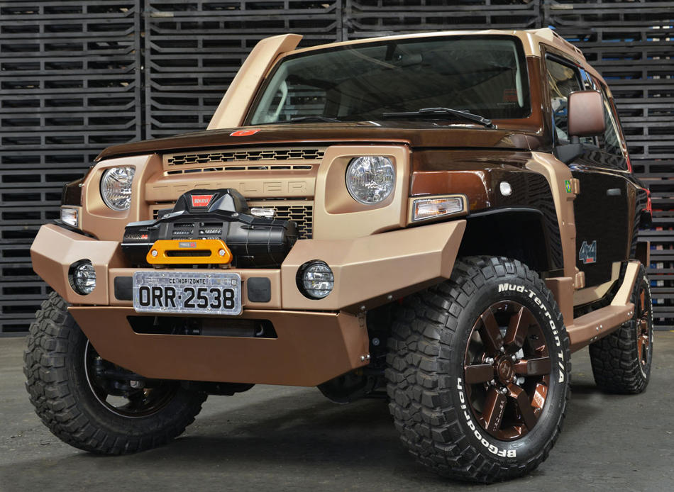 фото Ford Troller T4 Concept 2014